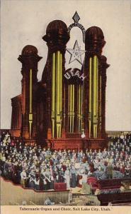 Tabernacle Organ And Choir Salt Lake City Utah 1909