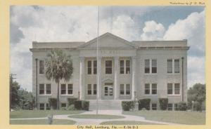 LEESBURG , Florida , 40-60s; City Hall