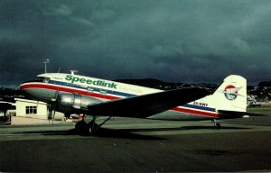 Speedlink Parcels Douglas DC-3C At Wellington New Zealand