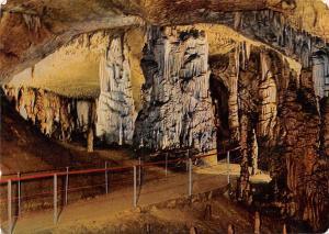 Slovenia Postojna vhod v Lepo Jamo Cave Grotte 1971