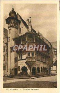1451 Old Postcard Colmar Pfister house