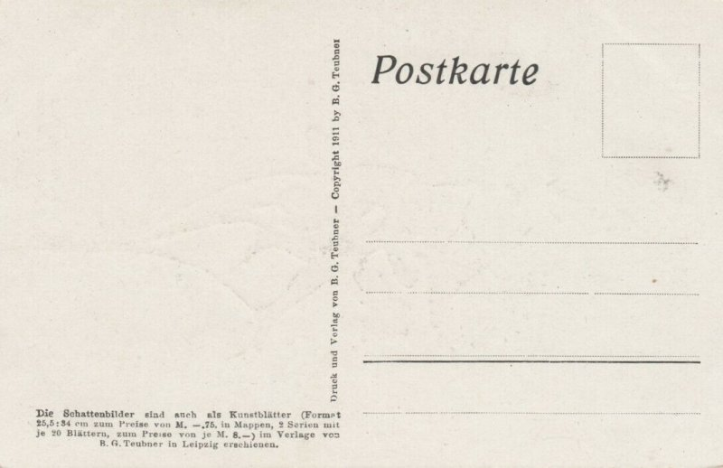 DIEFENBACH : Fantasy Silhouette , 00-10s ; Jugend I. Blatt 20