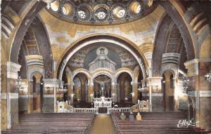 France Lourdes Interieur de la Basilique du Rosaire Basilica Interior