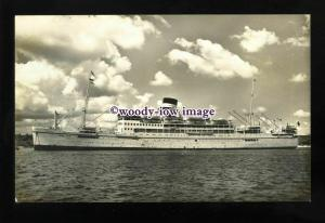 LS1365 - British India Steam Nav Liner - Aronda - postcard