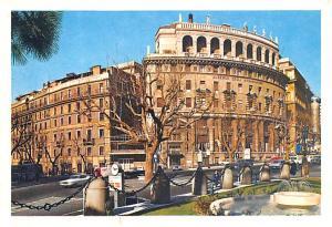 Italy Old Vintage Antique Post Card Albergo Palazzo Ambasciator Roma Unused