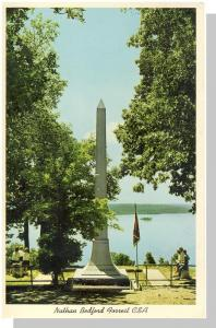 Camden, Tennessee/TN Postcard, Forrest Monument/Pilot Knob