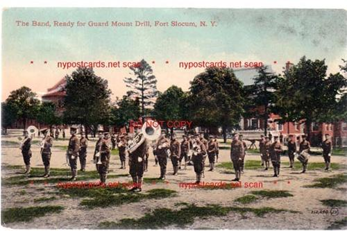 Band, Fort Slocum NY