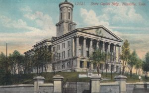 NASHVILLE, Tennessee, 1900-1910s; State Capitol Building