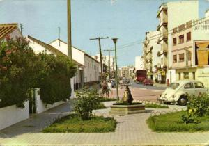 spain, FUENGIROLA, Avda. del Ejército, Car, V.W. Beetle
