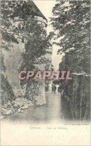 Old Postcard Chillon Tower Defense