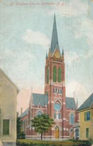 Rochester, New York - St Boniface Catholic Church - pm 1908 - DB