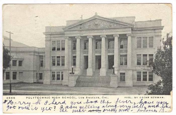 Polytechnic High School, Los Angeles, California, PU-1906