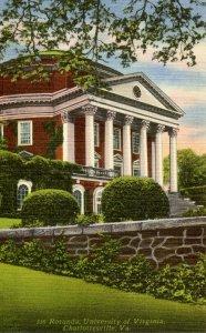 VA - Charlottesville. University of Virginia, Rotunda