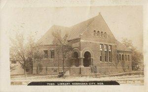 RP: NEBRASKA CITY , Nebraska, 1908 ; Library