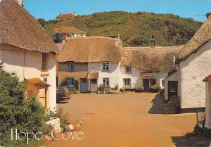 BR91418 the square hope cove  uk