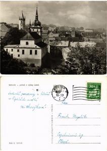 CPM AK Czechoslovakia - Teplice - pohled z vysiny Letná (693695)
