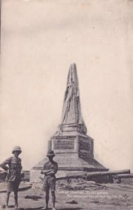 Turkish Obelisk Built Before Reoccupation Of Kut Antique Postcard