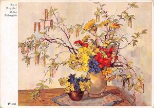 Rolf Regele: Erstes Birlengrun, Flowers Fleurs