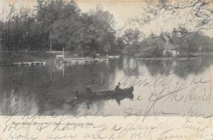 BALTIMORE, Maryland; 1907 ; Boat Lake, Druid Hill Park