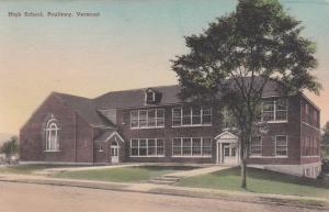 POULTNEY , Vermont, 00-10s ; High School