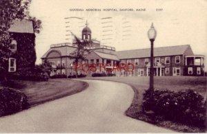 1942 GOODALL MEMORIAL HOSPITAL, SANFORD, ME.