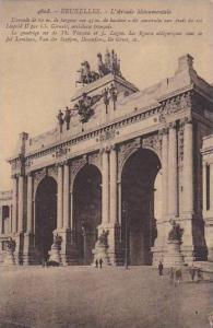 Exposition Universelle Bruxelles 1910 L'Arcade Monumentale