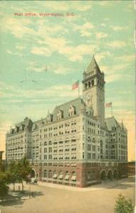 Post Office, Washington D.C. 1911 used Postcard