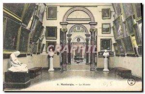Old Postcard Montargis The Museum