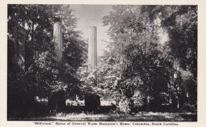 Millwood,  Ruins of General Wade Hampton's Home,  Columbia,  South Carolina...