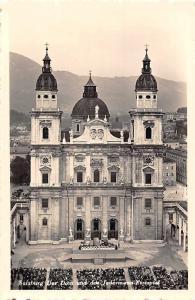 Salzburg Der Dom und das Jedermann Festspiel Cathedral Cattedrale