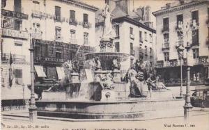 France Nantes Fontaine de la Place Royale