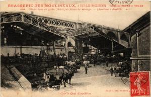 CPA ISSY-les-MOULINEAUX Brasserie des Moulineaux. Quai d'expedition. (509697)