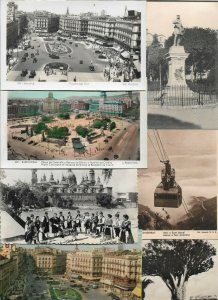 Spain - Madrid Barcelona Zaragoza Bilbao And More Postcard Lot of 27  01.09