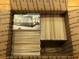 Large Lot of 1000+ Vintage Early and Mid-1900s Virginia Postcards