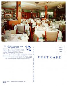 The Lafayette Charcoal Steak and Seafood House, Williamsburg, Virgina (8205)