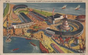 CHICAGO, World's Fair 1933 : Enchanted Island, A Playground for Children