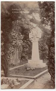 Hampshire; Charles Kingsley's Grave, Eversley 235 RP PPC Unposted, c 1910