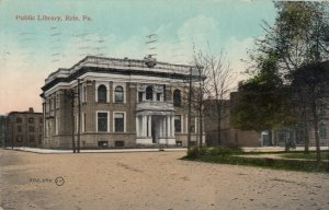 ERIE , Pennsylvania, PU-1911; Public Library