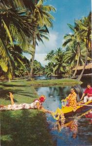 Hawaii Kauai Coco Palms Resort Hotel Tropical Lagoon