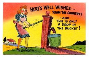 Humor - A drop in the bucket