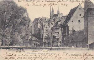 Partie Am Der Pegnitz, Nurnberg (Bavaria), Germany, PU-1912