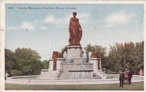 Thatcher Monument City Park Denver Colorado