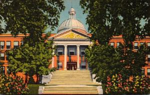 New Mexico Santa Fe State Capitol Building Curteich