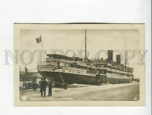 3173211 ITALY GENOVA ship Pricipessa Mafalda Vintage photo PC