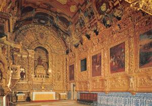 Portugal Lagos Algarve Interior of St Antionio Church Eglise de St Antonio