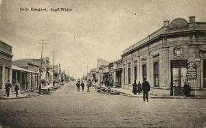 argentina, BAHIA BLANCA, Calle Elsegood, Ingeniero White (1927) Eladio Bautista