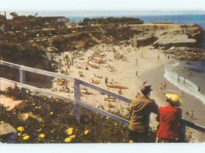 1940's SUNSET CLIFFS BEACH San Diego California CA W6127