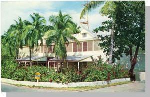 Key West, Florida/FL Postcard, The Little White House