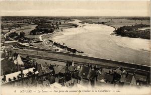 CPA   Nevers - La Loire- Vue prise du sommet du Clocher de la Cathédrale(355722)