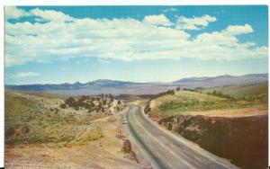 Desert  Highway in the West and Southwest, unused Postcard
